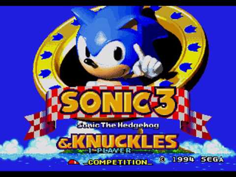 Sonic 3 And Knuckles Messing Around In Debug Mode