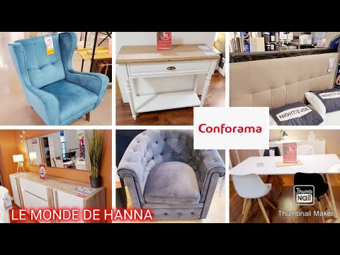 CONFORAMA 21-02 MOBILIER TABLE LIT CHAISE SOLDES