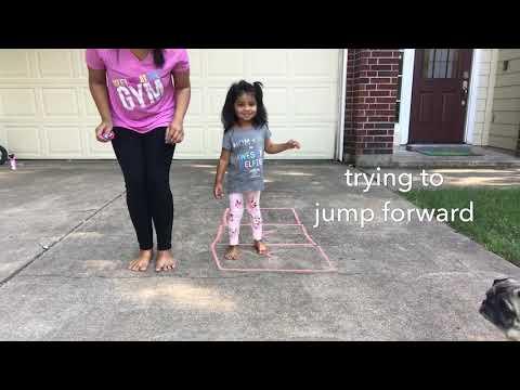 How to teach Jumping Forward