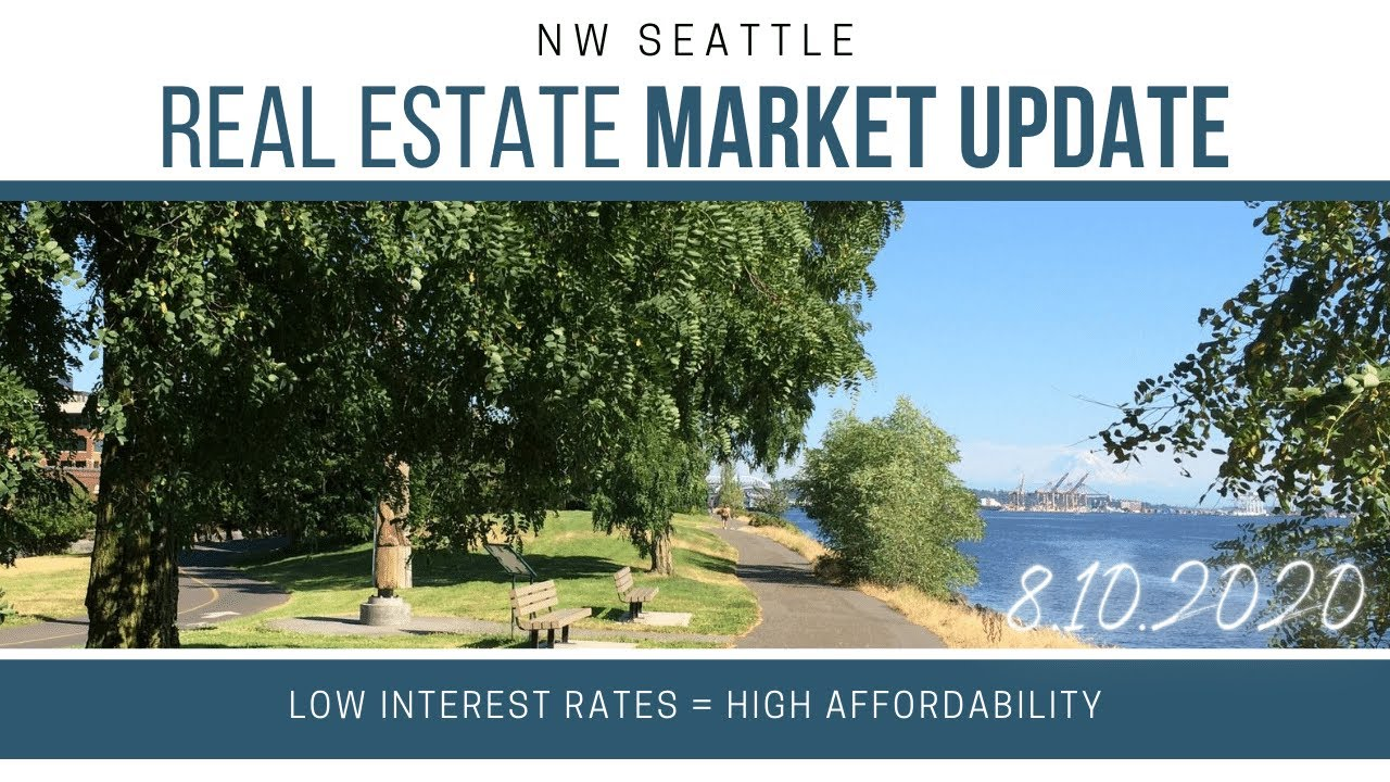 Monday ​NW Seattle Real Estate Market Update | August 10th, 2020