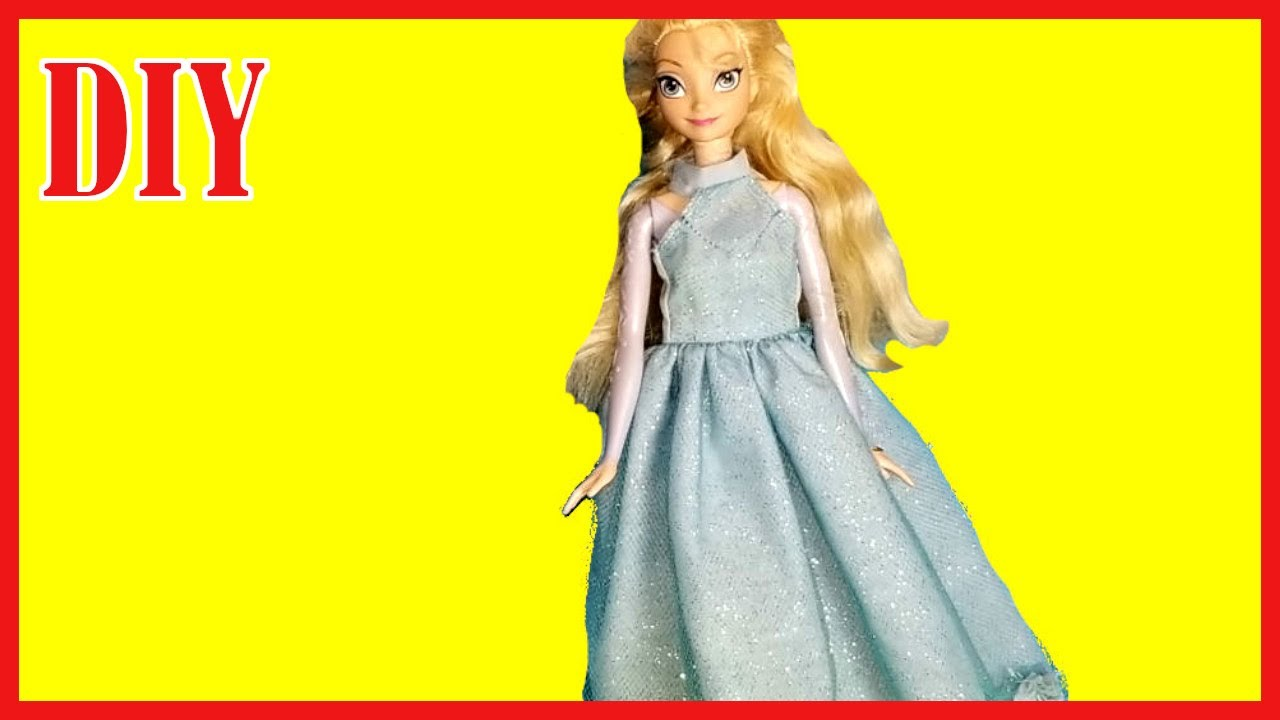 How to Make a Awesome Gorgeousand & Cute Prom Tulle Dress for Dolls ...