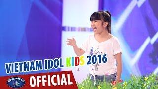 VIETNAM IDOL KIDS - THẦN TƯỢNG ÂM NHẠC NHÍ 2016 - TẬP 2 - BANG BANG & NGẪU HỨNG SÔNG HỒNG - BẢO TRÂN