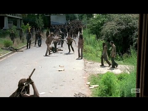 The Walking Dead Season 6 Ep 5 - Rick Runs Back Home #Alexandria [HD] - Now