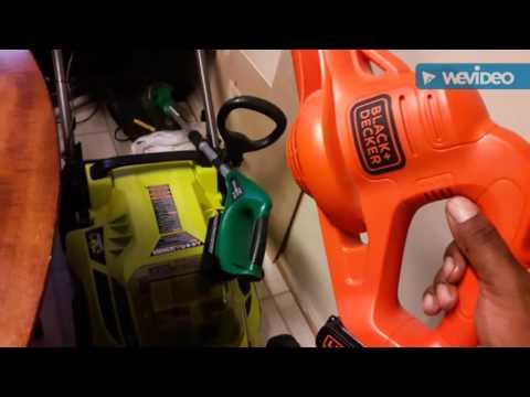 Ryobi 40 volt lithium battery operated lawn mower