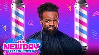 Xavier Woods secret hair technique revealed The New Day Feel the Power June 29 2020