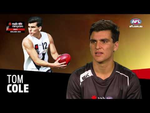 2015 NAB AFL Draft Trumps - Tom Cole