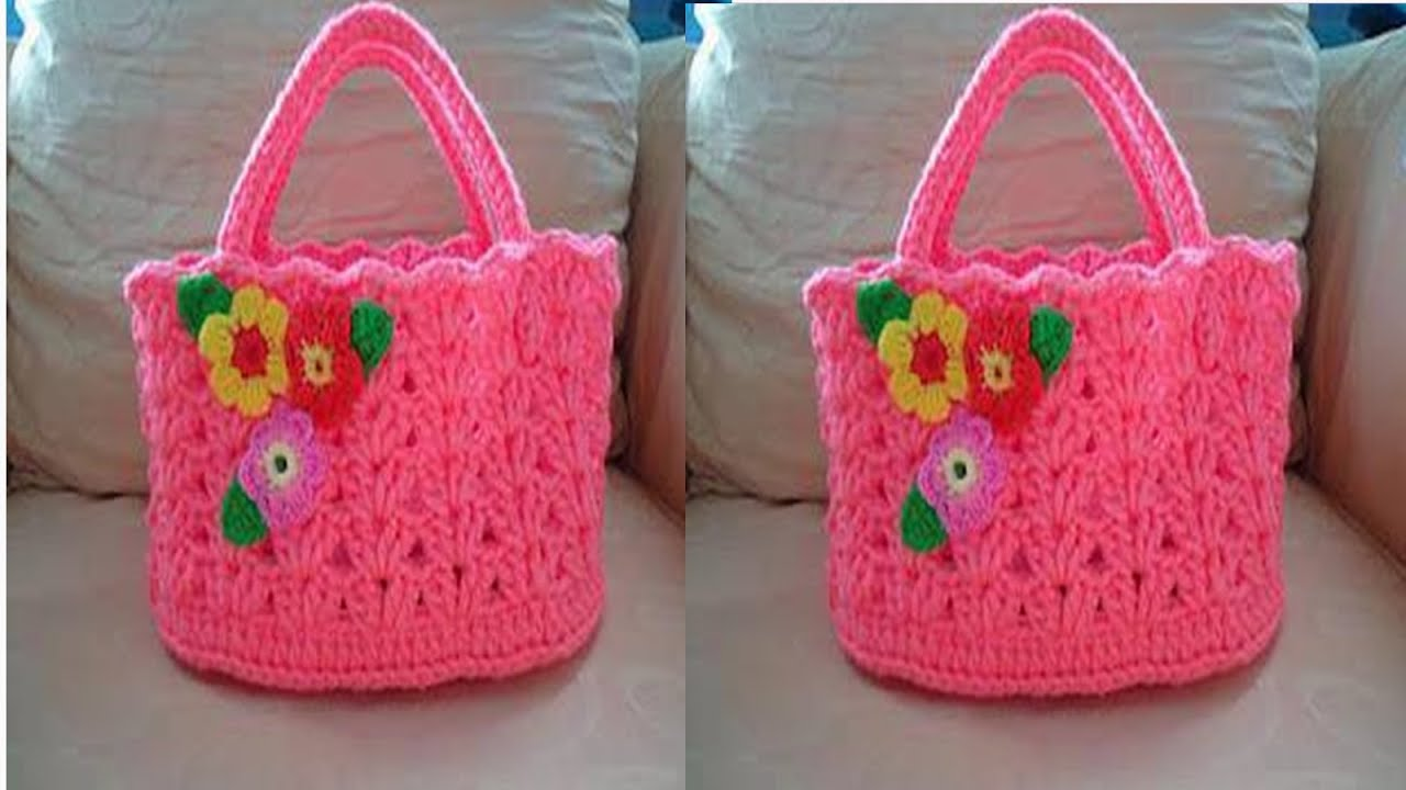 Carteras y bolsos tejidos a crochet n 07 youtube - Bolsos tejidos a crochet ...