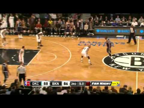 Oklahoma City Thunder vs. Brooklyn Nets Full Highlights 4 December 2012