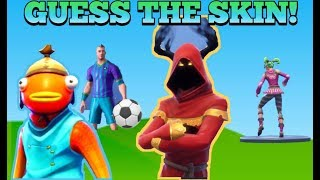 FORTNITE QUIZ | GUESS THE SKINS | TAKE THE CHALLENGE!