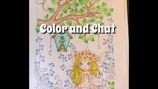 Color and Chat with a new feature!