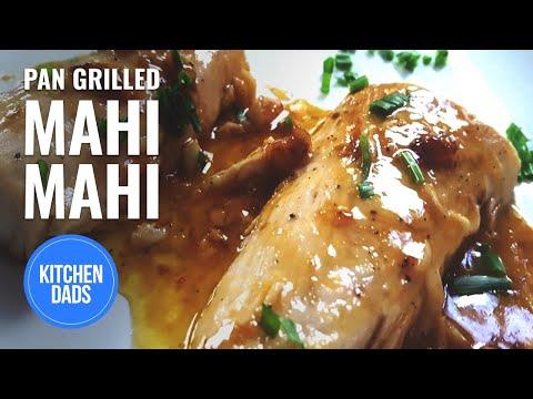 How To Saute Mahi Mahi With Lemon Garlic Butter | Kitchen Dads Cooking