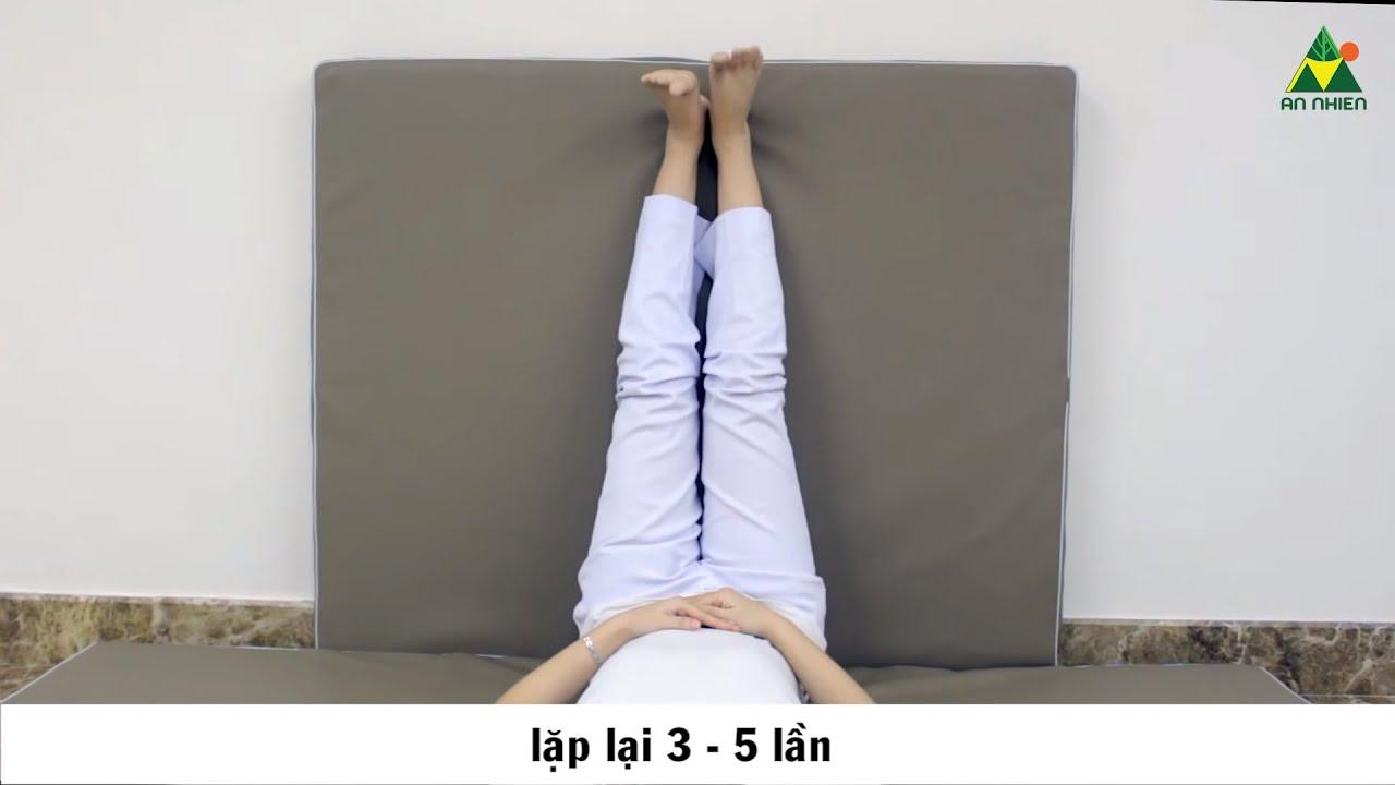 Bài tập phòng, điều trị suy giãn tĩnh mạch