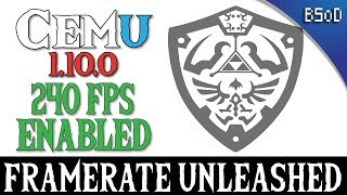 Cemu 1.10.0 | 240 FPS Unlocked | Zelda Breath of the Wild
