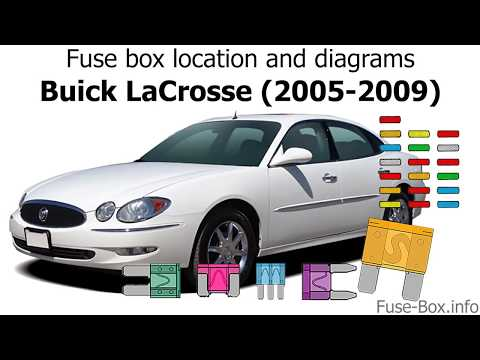 Fuse box location and diagrams: Buick LaCrosse (2005-2009) - YouTubeYouTube