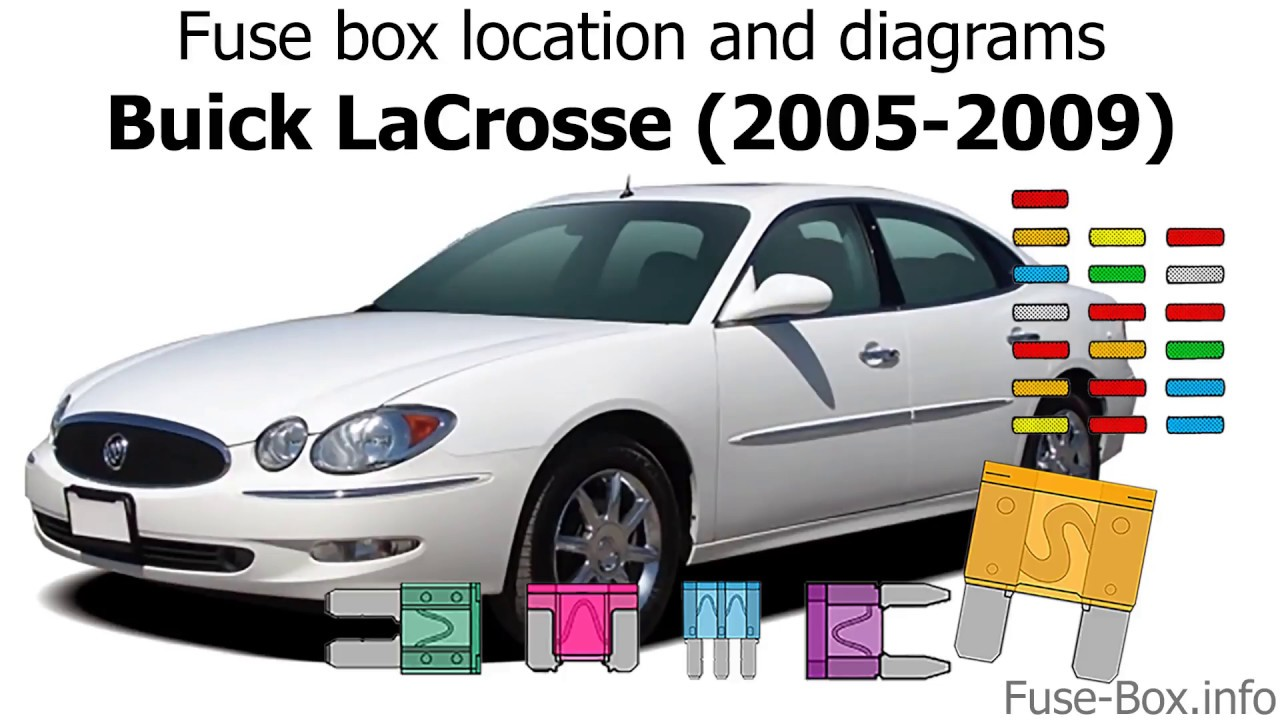 medium resolution of fuse box location and diagrams buick lacrosse 2005 2009 youtube fuse box in 2005 buick lacrosse
