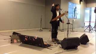 OKI/トンコリ~驚異の5弦ギター~サハリンからの衝撃@札幌歩行空間2013