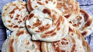 โรตีอินเดีย แป้งเหนียวนุ่มนาน ทําง่ายๆ❤ อาบังแม่ลูกสอนทําพร้อมสูตร 🧕Roti Bread Receipe