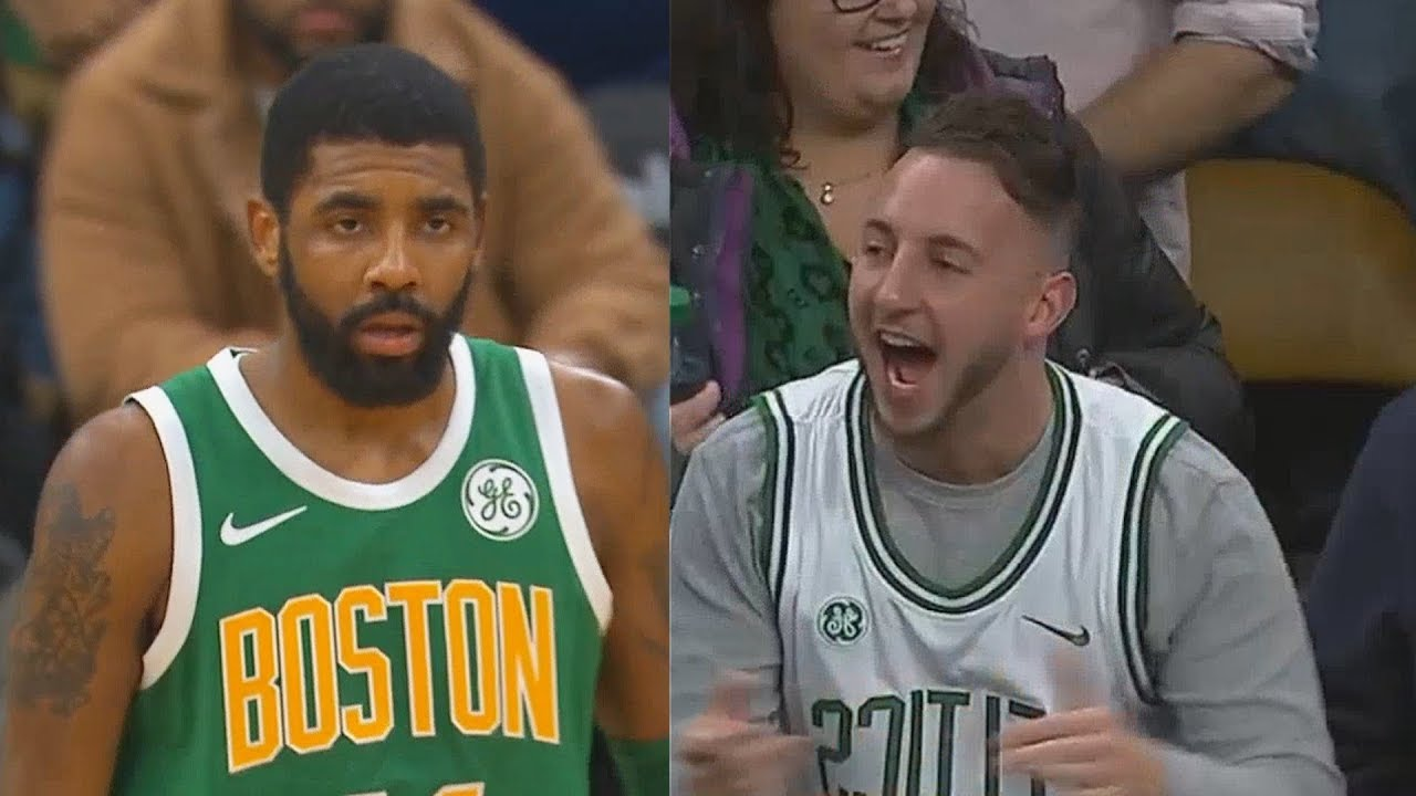 c9f82335e5fd Kyrie Irving Shocks Celtics Crowd After Taking Over In Final Minutes Of  Overtime! Celtics vs Sixers