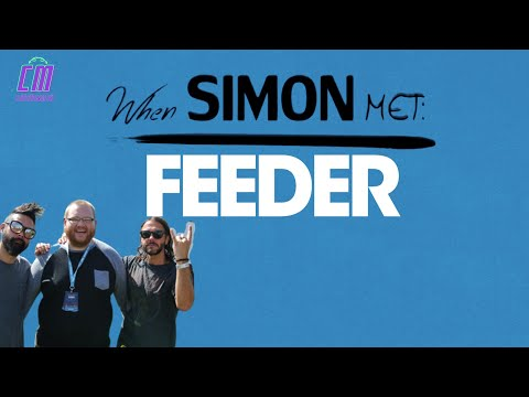 Feeder interview at Victorious Festival 2017