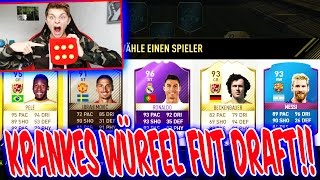 FIFA 17: KRANKE WÜRFEL FUT DRAFT CHALLENGE!! - ULTIMATE TEAM (DEUTSCH)