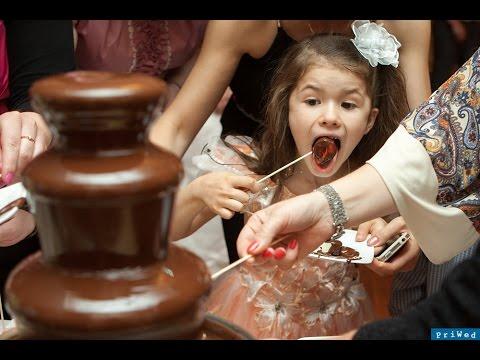 Шоколадный фонтан. Детский домашний шоколадный фонтан - YouTube