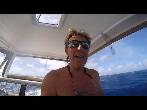 Lagoon 400, Cool Runnings, sailing across the Indian Ocean from Cocos Keeling to Chagos