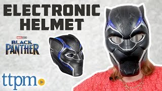 Marvel Legends Series Black Panther Electronic Helmet Review | Hasbro Toys & Games