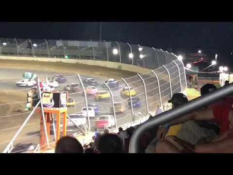 Lawrenceburg Speedway Hornet Feature (9/1/2018) (wrecked)