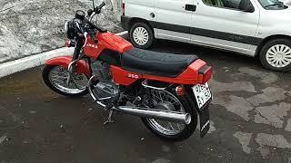 новый мотоцикл марки Ява 350/640/129, 2018 г.в. Внешний вид исполнение модели 350/638