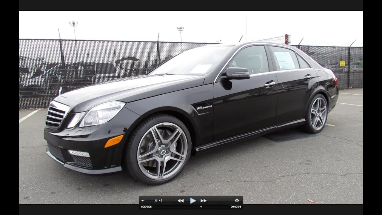 2012 Mercedes Benz E63 Amg Biturbo Start Up Exhaust And