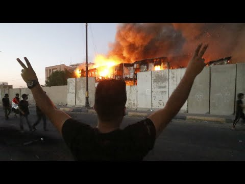 Iraq: Curfew imposed in Basra as violent protests continue