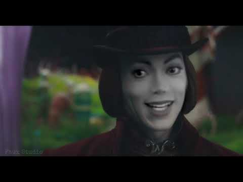 Michael Jackson as Willy Wonka - Compilation