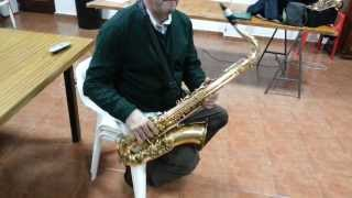 Saxo Tenor Yanagisawa T-880, Selmer soloist C*