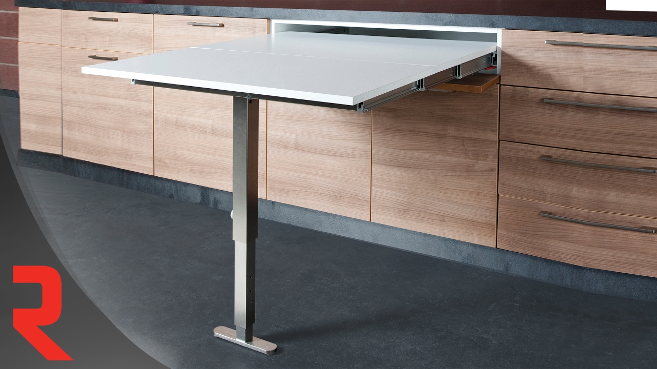 Table D Appoint Cuisine comment installer le mécanisme pour extension de table t-able