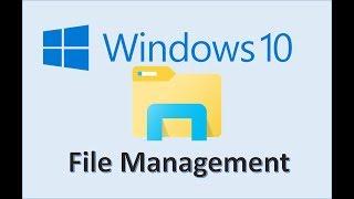 Computer Fundamentals - Explain the Importance of File Management