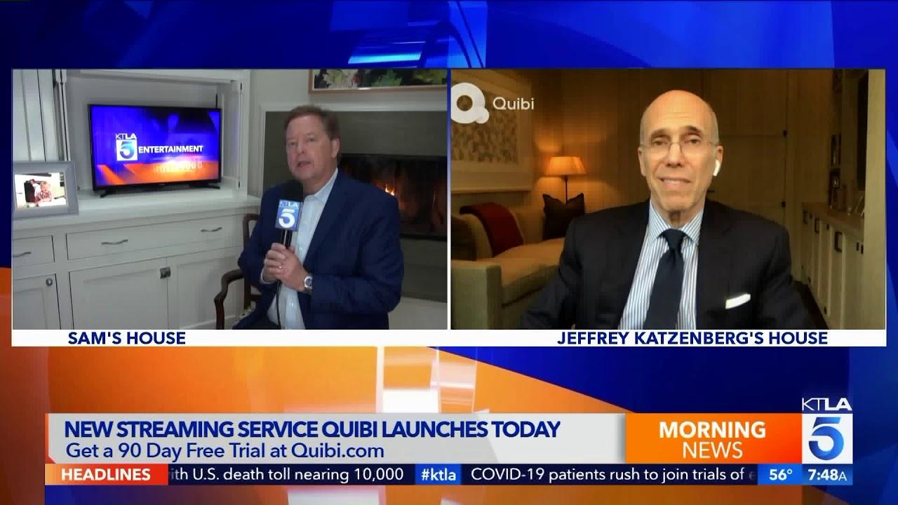 Quibi Founder Jeffrey Katzenberg Talks New Mobile Streaming Service