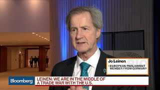 Trump Tariffs on EU Could Lead to Trade War, Leinen Says