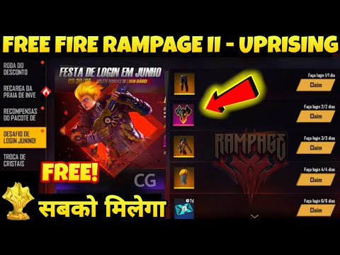 Free Fire New Update 2020 Details Free Fire Rampage 2 Uprising Event How To Complete Missions Youtube