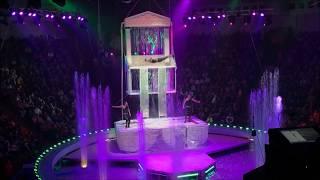 Цирк - шоу гигантских фонтанов. Национальный Цирк Украины, Киев.Circus - show giant fountains.