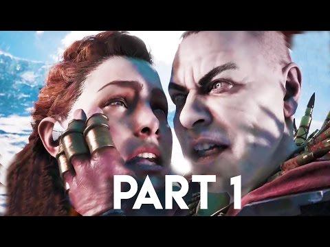 Horizon Zero Dawn Walkthrough Gameplay Part 1 - The Purge -  3+ HOURS!! (PS4 PRO Gameplay)