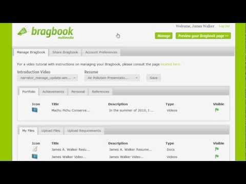 Bragbook Multimedia - Share Feature
