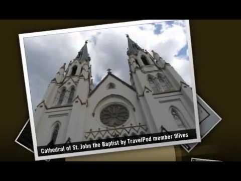 Cathedral of St. John the Baptist - Savannah, Georgia Coast, Georgia, United States