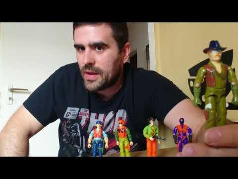 Heti videó: 23# Vintage G.I.Joe - Pilóták, sofőrök, driverek - 3.rész