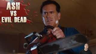 Ash vs Evil Dead Starz Season 1 Trailer - Review!