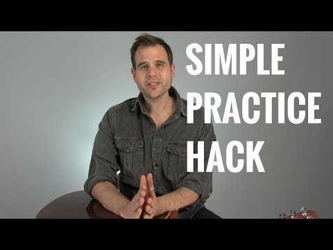 Simple Practice Hack to Get Results