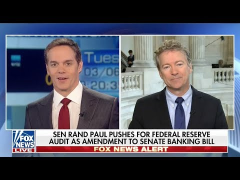 Sen. Paul on FISA Reform, Tariffs, and Audit the Fed - March 6, 2018