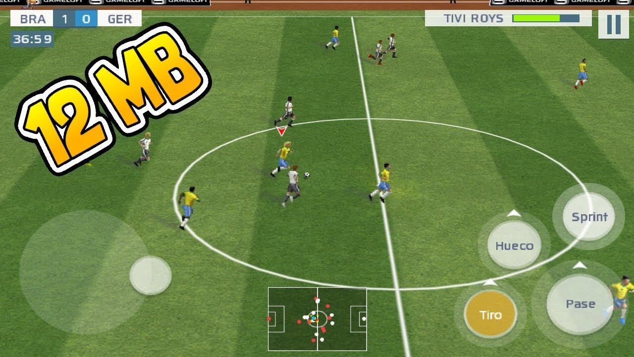Descarga Ya Juego De Futbol De 12 Mb Para Android Apk Real