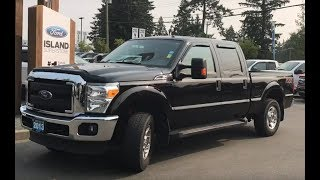 2013 Ford Super Duty F-250 SRW XLT, No Accidents Reported, Low KM, Heated  Mirrors Review|