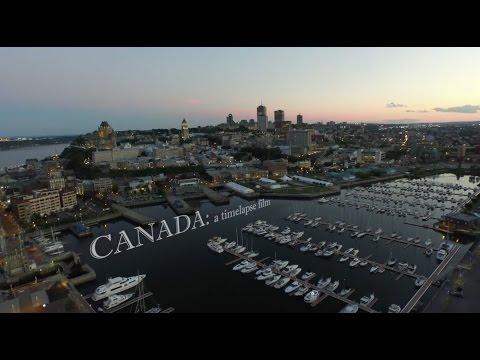 CANADA: a timelapse and hyperlapse film