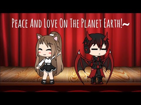 Peace And Love On The Planet Earth   Seven Universe   Gacha Life